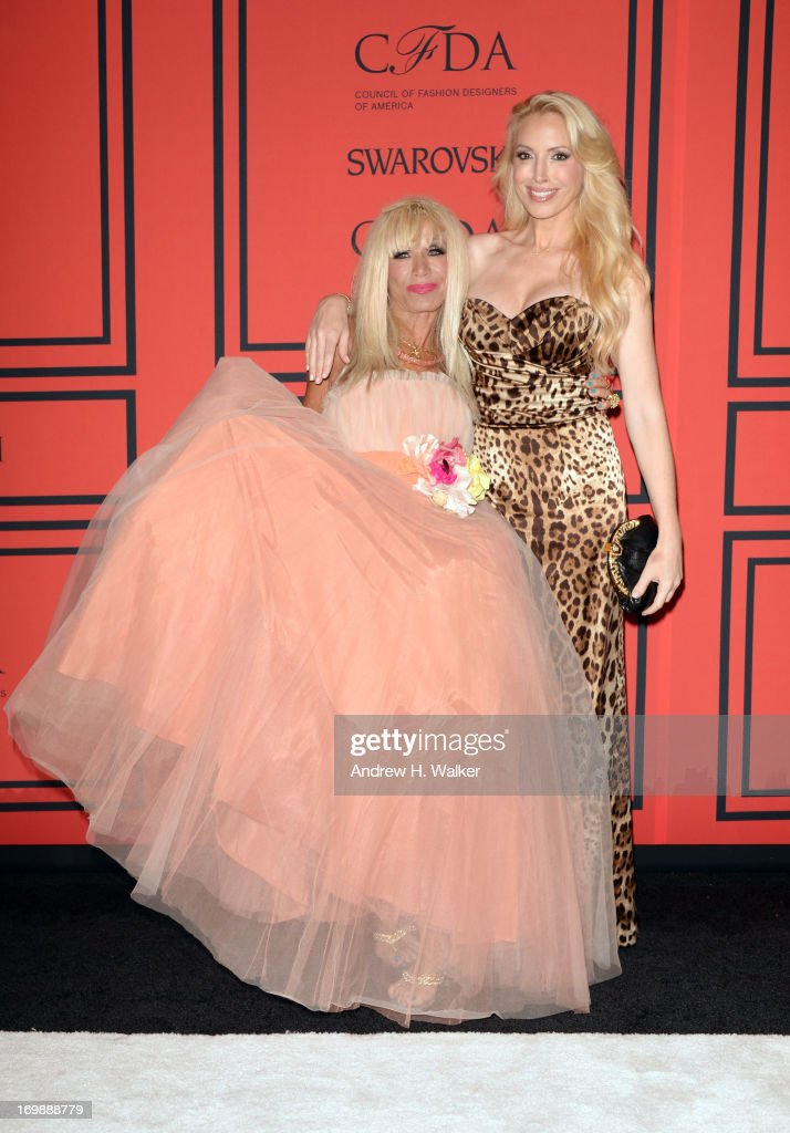 Betsey Johnson and Lulu Johnson attend 2013 CFDA Fashion Awards at Alice Tully Hall on June 3, 2013 in New York City.