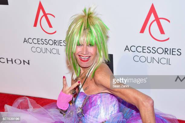 Betsey Johnson attends 21st Annual Ace Awards at Cipriani 42nd Street on August 7 2017 in New York City
