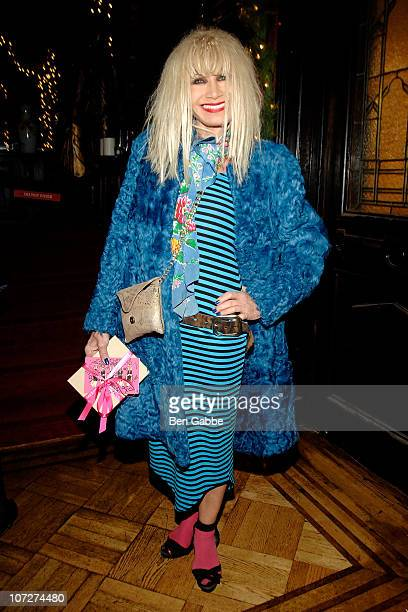 Betsey Johnson attends the Lifetime Achievement Award ceremony for fashion at The National Arts Club on December 2 2010 in New York City