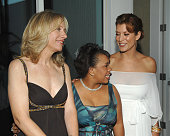Betsy Beers Chandra Wilson and Kate Walsh during Women In Film Presents The Best of the Best The 2007 Crystal Lucy Awards Red Carpet in Los Angeles...