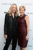Betsy Beers Executive Producer ABC and VP Publisher Marie Claire Nancy Cardone attend Marie Claire's SecondAnnual New Guard Lunch at Hearst Tower on...