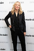 Betsy Beers Executive Producer ABC attends Marie Claire's SecondAnnual New Guard Lunch at Hearst Tower on October 30 2014 in New York City