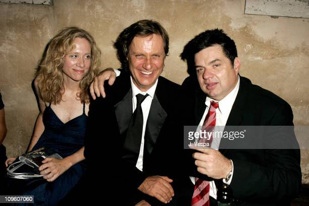 Betsy Beers Lasse Hallstrom and Oliver Platt during 2005 Venice Film Festival 'Casanova' Party Inside at Palazzo Ducale in Venice Lido Italy
