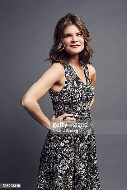Betsy Beers poses for a portrait at the 2016 People's Choice Awards at the Microsoft Theater on January 6 2016 in Los Angeles California