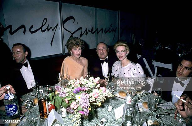 Betsy Bloomgindale Jerry Zipkin and Lynn Wyatt during Herbert de Givenchy Honored at Opening of 'Givency 30 Yrs' at Fashion Institute in New York...
