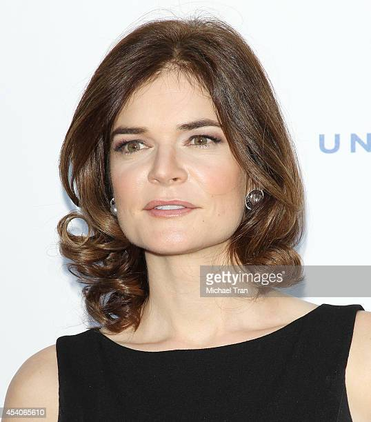 Betsy Brandt arrives at the Television Academy Performers Nominee Reception for The 66th Emmy Awards held at Spectra by Wolfgang Puck at the Pacific...