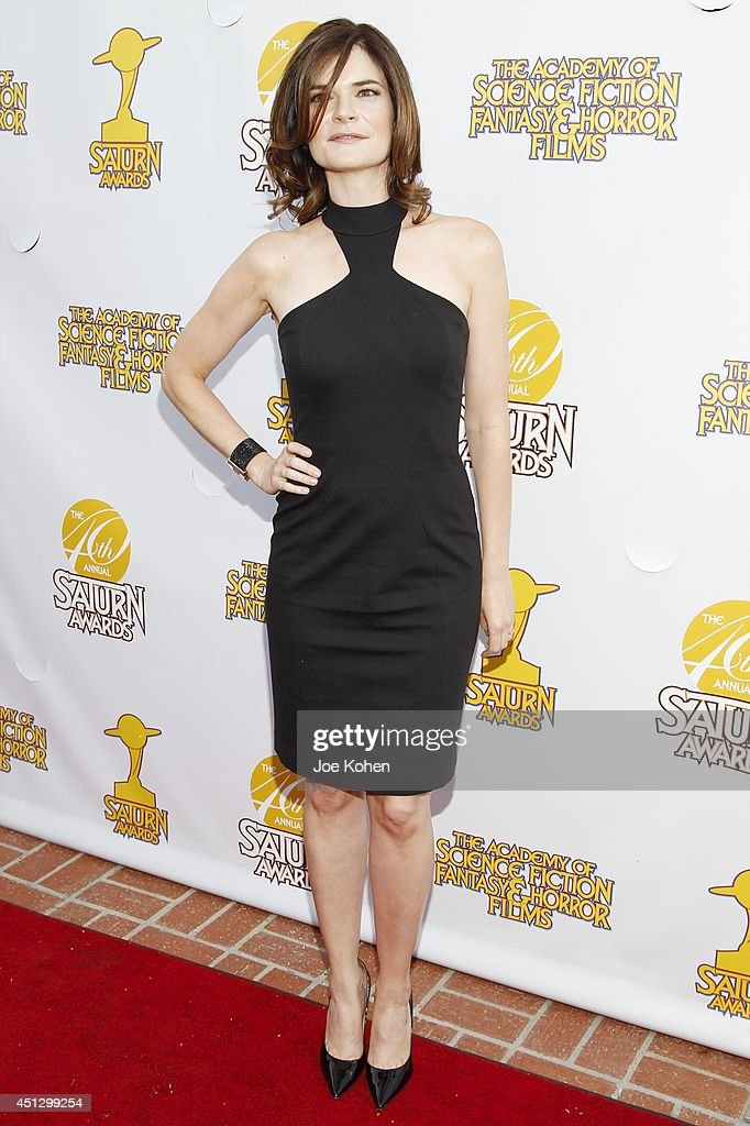 <a gi-track='captionPersonalityLinkClicked' href=/galleries/search?phrase=Betsy+Brandt&family=editorial&specificpeople=4819893 ng-click='$event.stopPropagation()'>Betsy Brandt</a> attends the 40th Annual Saturn Awards at The Castaway on June 26, 2014 in Burbank, California.