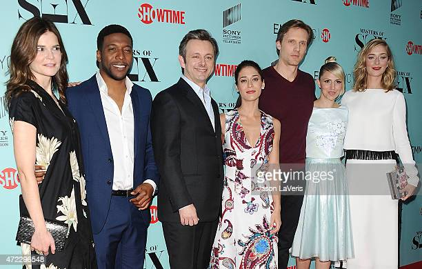 Betsy Brandt Jocko Sims Michael Sheen Lizzy Caplan Teddy Sears Annaleigh Ashford and Caitlin Fitzgerald attend the Showtime and Sony Pictures...