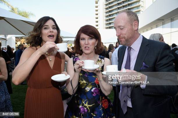 Betsy Brandt Kate Flannery and Matt Walsh attend the BBC America BAFTA Los Angeles TV Tea Party 2017 at The Beverly Hilton Hotel on September 16 2017...