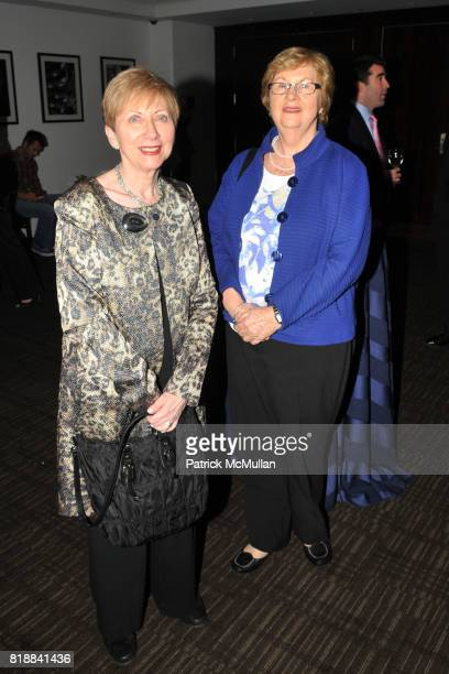 Betsy Frank and Kathy Doyle attend TIME INC Live and Unfiltered Presents ROUGH JUSTICE Hosted by FORTUNE at Time and Life Building Screening Room on...