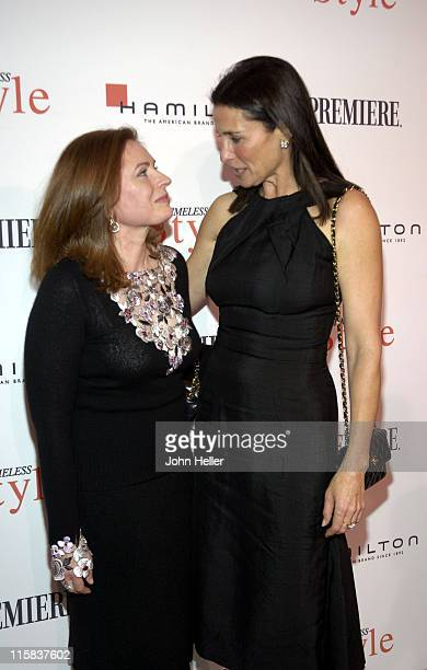 Betsy Heimann Costume Designer and recipient of the Timeless Style Award and Mimi Rogers