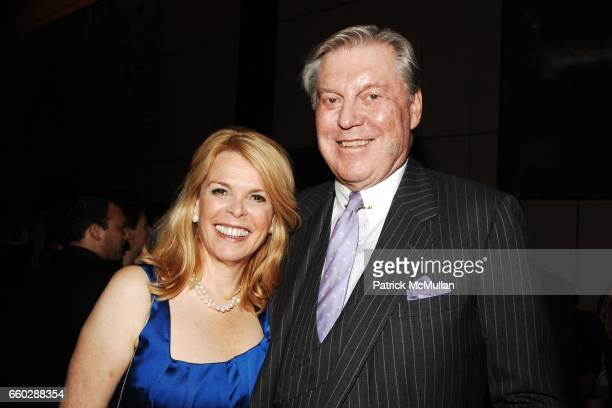 Betsy McCaughey Ross and Chuck Brunie attend THE FOUR SEASONS RESTAURANT 50th Anniversary INSIDE at The Four Seasons Restaurant on June 11 2009 in...