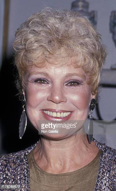 Betsy Palmer attends Peter Mark Tuchman Art Exhibit Opening on March 3 1988 at Galerie Des Stars in Century City California