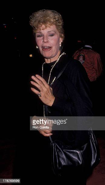 Betsy Palmer attends the opening of 'Phantom of the Opera' on August 27 1989 at the Ahmonson Theater in Hollywood California