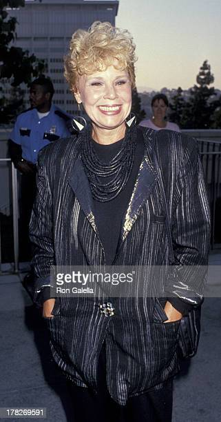 Betsy Palmer attends the premiere of 'MotherMother' on December 6 1989 at the Cinerama Dome Theater in Hollywood California