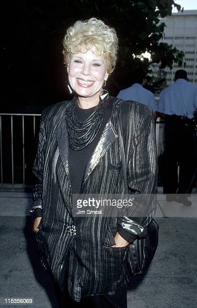 Betsy Palmer during 'Phantom of the Opera' Los Angeles Opening Night at Ahmanson Theater in Los Angeles California United States