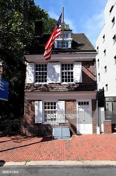 Betsy Ross House in Philadelphia Pennsylvania on August 27 2016