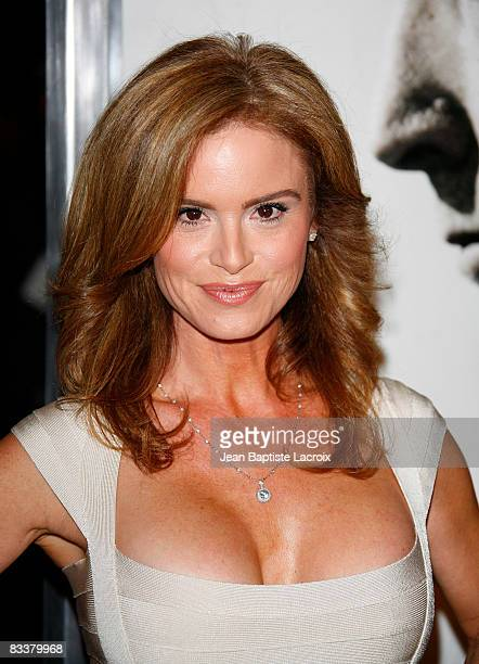 Betsy Russell attends the premiere of 'Saw V' at Mann's Chinese Six on October 21 2008 in Hollywood California