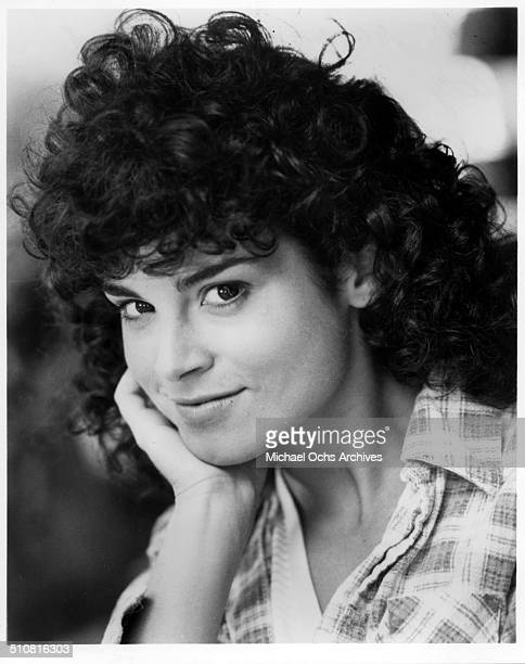 Betsy Russell poses for the movie 'Tomboy' circa 1985