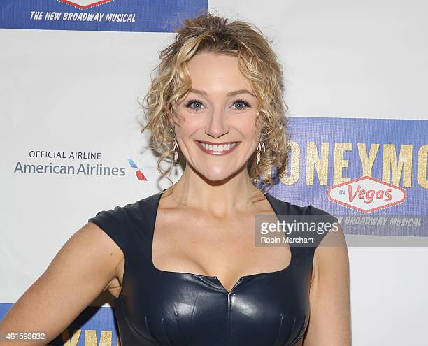 Betsy Wolfe attends 'Honeymoon In Vegas' Broadway Opening Night at Nederlander Theatre on January 15 2015 in New York City