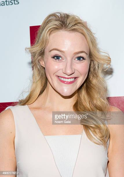 Betsy Wolfe attends New Dramatists 65th annual spring luncheon at The New York Marriott Marquis on May 22 2014 in New York City
