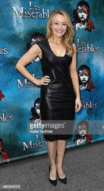 Betsy Wolfe attends the 'Les Miserables' On Broadway Opening Night at Imperial Theatre on March 23 2014 in New York City