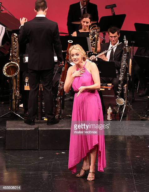 Betsy Wolfe performing at the Transport Group Theatre Company's production of 'The Music Man' at The Signature Theatre Company's Pershing Square...