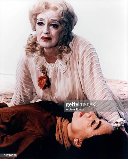 Bette Davis and Joan Crawford on the beach in a scene from the film 'What Ever Happened To Baby Jane' 1962