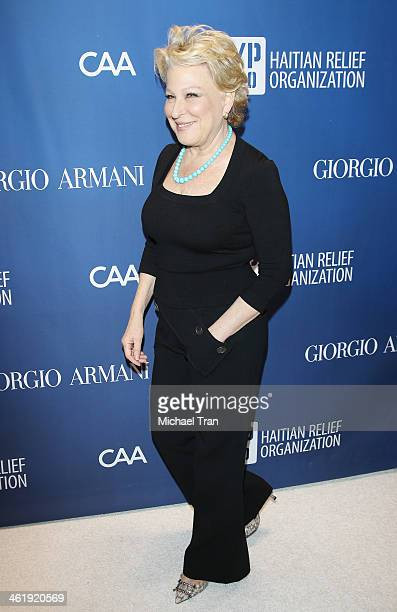 Bette Midler arrives at the 3rd Annual Sean Penn Friends Help Haiti Home Gala benefiting J/P HRO presented By Giorgio Armani held at Montage Beverly...