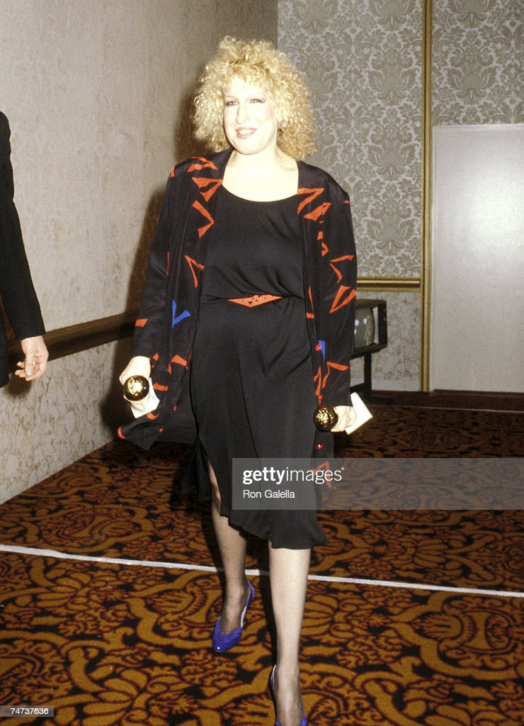Bette Midler at the Beverly Hilton Hotel in Beverly Hills, California