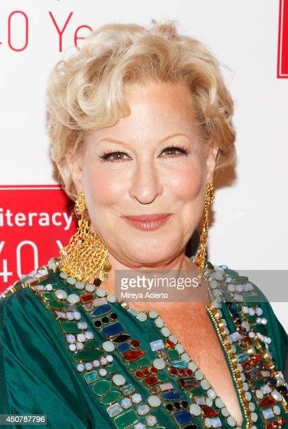 Bette Midler attends Literacy Partners 30th Annual Evening Of Readings And Gala Dinner at Cipriani 42nd Street on June 17 2014 in New York City