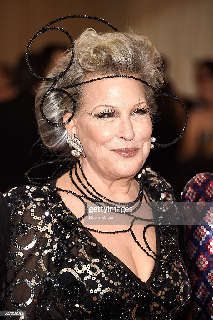 Bette Midler attends 'Manus x Machina: Fashion In An Age Of Technology' Costume Institute Gala at Metropolitan Museum of Art on May 2, 2016 in New York City.