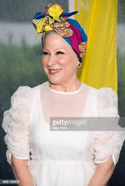 Bette Midler attends the 2017 New York Restoration Project Spring Picnic at Sherman Creek Park on June 19 2017 in New York City