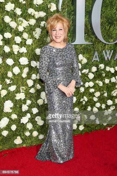 Bette Midler attends the 2017 Tony Awards at Radio City Music Hall on June 11 2017 in New York City
