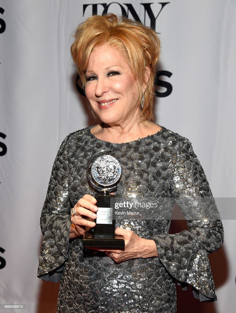 Bette Midler attends the 2017 Tony Awards at Radio City Music Hall on June 11, 2017 in New York City.