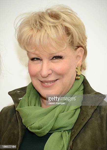 Bette Midler attends the 26th Annual Power Lunch For Women at The Plaza Hotel on November 16 2012 in New York City