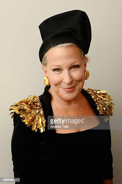 Bette Midler attends The Blonds show during Spring 2016 MADE Fashion Week at Milk Studios on September 16 2015 in New York City