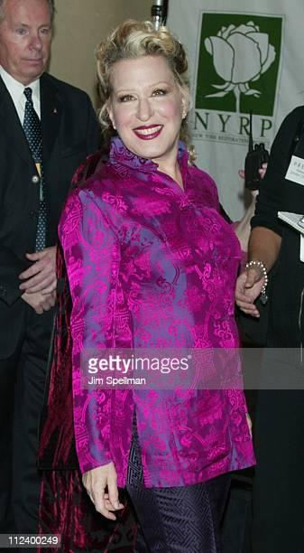 Bette Midler during New York Restoration Project's 'Hulaween' Gala 2002 at Marriott Marquis in New York New York United States