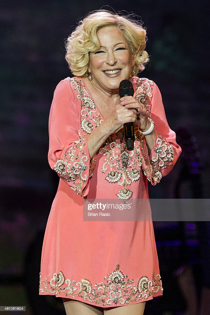Bette Midler Performs At The O2 Arena