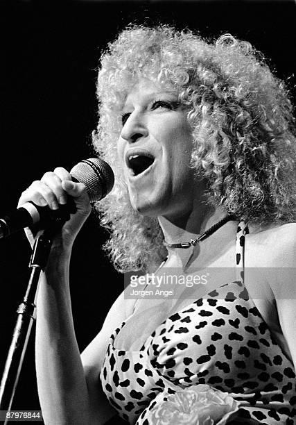 Bette Midler performs live on stage in Copenhagen Denmark in 1978
