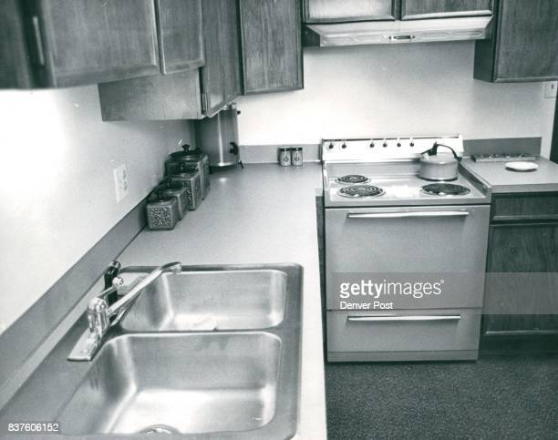 Better Business Bureaus into the ceiling stainless steel sink formica counter tops and highdensity nylon carpet that was donated by Lenon Tile and...