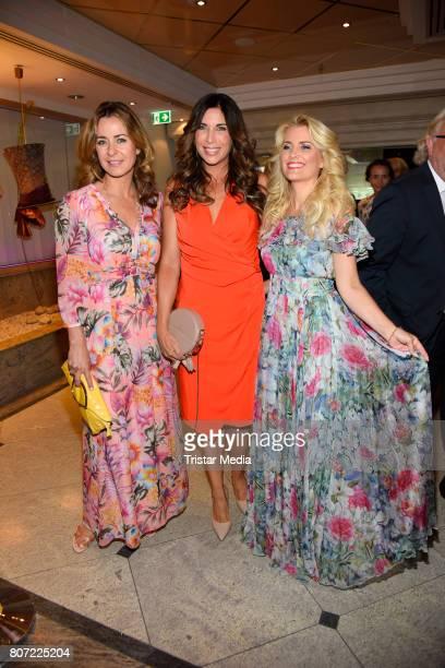 Bettina Cramer Alexandra Polzin and Jennifer Knaeble attend the 14th SPA Diamond Award at Hotel Palace Berlin on July 3 2017 in Berlin Germany