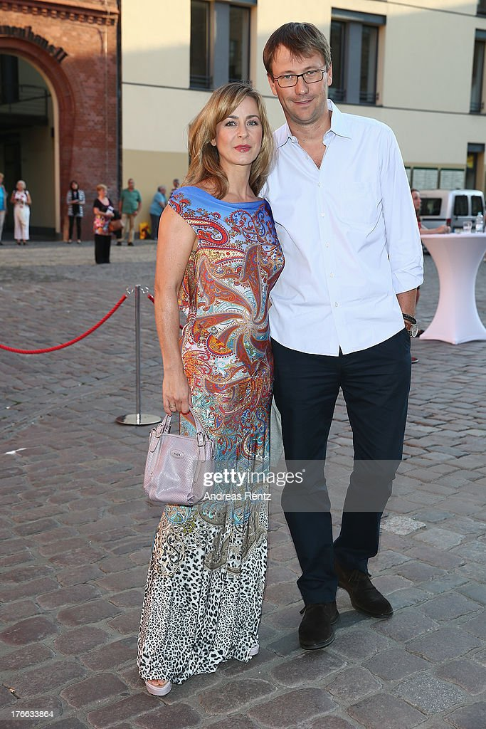 Bettina Cramer and Michael Cramer attend the 12th Audi Classic Open Air during the AUDI Sommernacht at Kulturbrauerei on August 16, 2013 in Berlin, Germany.