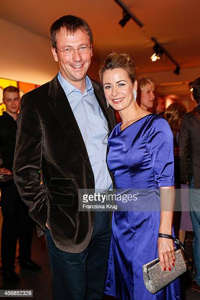 Bettina Cramer and Michael Cramer attend the Tiffany Gala Host 'Streetstyle Meets Red Carpet' Event on October 08 2014 in Berlin Germany