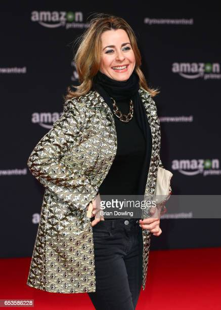 Bettina Cramer arrives at Amazon Prime Video's premiere of the series 'You are Wanted' at CineStar on March 15 2017 in Berlin Germany
