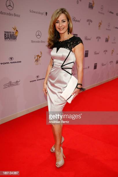Bettina Cramer arrives at Tribute To Bambi at Station on October 17 2013 in Berlin Germany