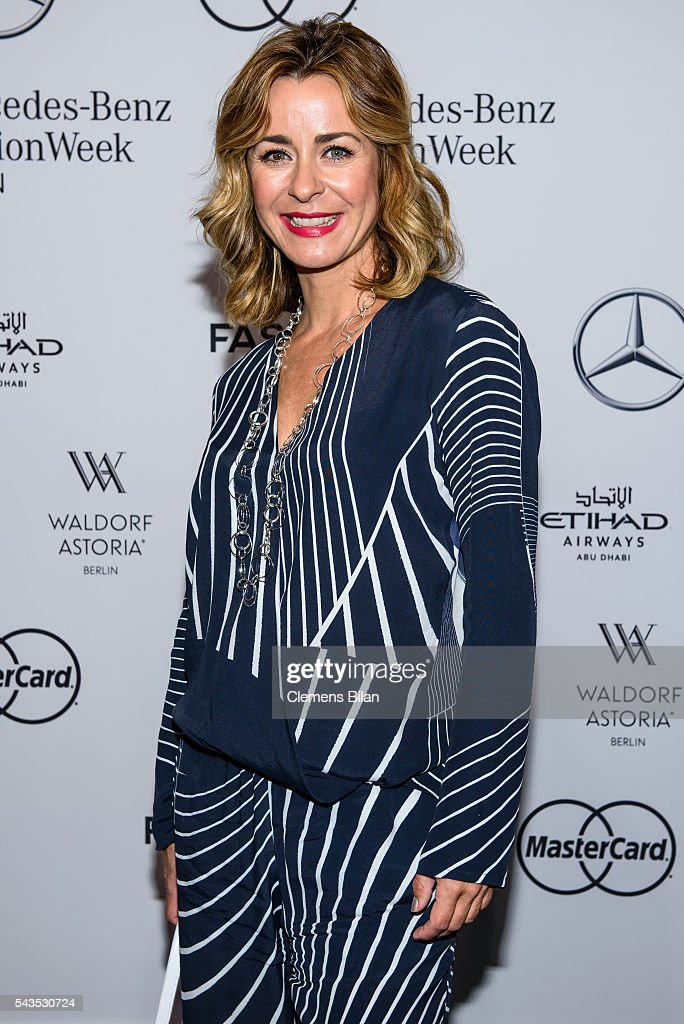 <a gi-track='captionPersonalityLinkClicked' href=/galleries/search?phrase=Bettina+Cramer&family=editorial&specificpeople=206863 ng-click='$event.stopPropagation()'>Bettina Cramer</a> attends the Anja Gockel show during the Mercedes-Benz Fashion Week Berlin Spring/Summer 2017 at Erika Hess Eisstadion on June 29, 2016 in Berlin, Germany.