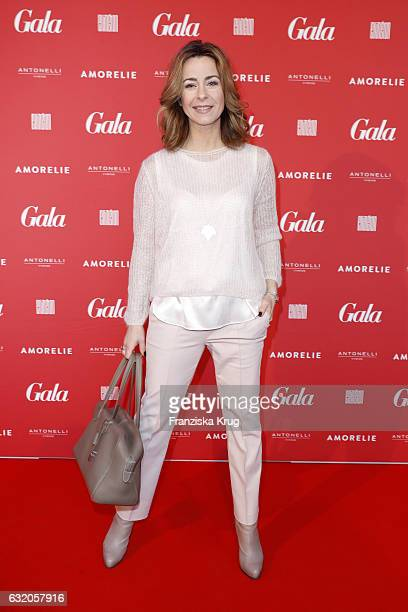 Bettina Cramer attends the 'Gala' fashion brunch during the MercedesBenz Fashion Week Berlin A/W 2017 at Ellington Hotel on January 19 2017 in Berlin...