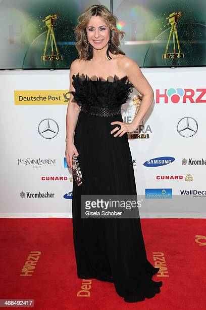 Bettina Cramer attends the Goldene Kamera 2014 at Tempelhof Airport Hangar 7 on February 1 2014 in Berlin Germany