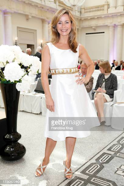 Bettina Cramer attends the Montblanc De La Culture Arts Patronage Award 2013 at Hotel De Rome on July 1 2013 in MUNICH Germany